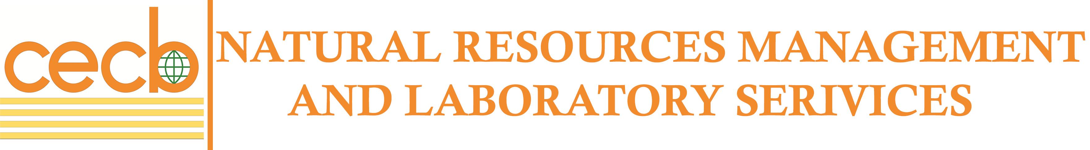 Natural Resouces Management & Laboratory Services